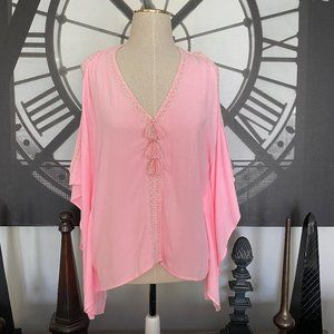 Lilly Pulitzer Pink Tassel Swing top S/M